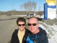 Entering British Columbia