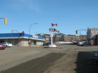 Alaska Highway Mile 0 Sign Post